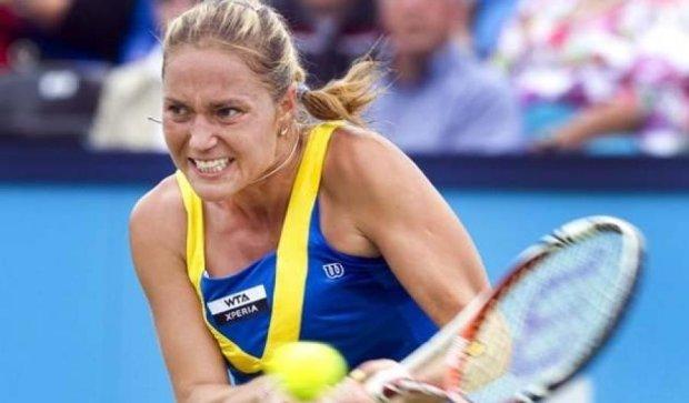 Українка припиняє виступи на тенісному турнірі в Досі