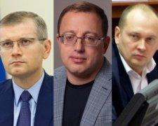 Максим Романенко, Геннадій Гуфман, Олександр Вілкул