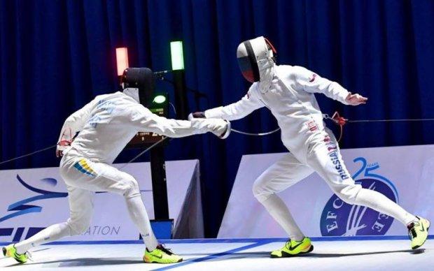 Українські фехтувальники здобули срібло чемпіонату Європи