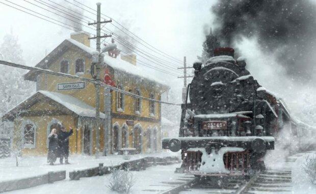 Святой Николай на поезде: маленьким киевлянам сделали грандиозный сюрприз, море впечатлений