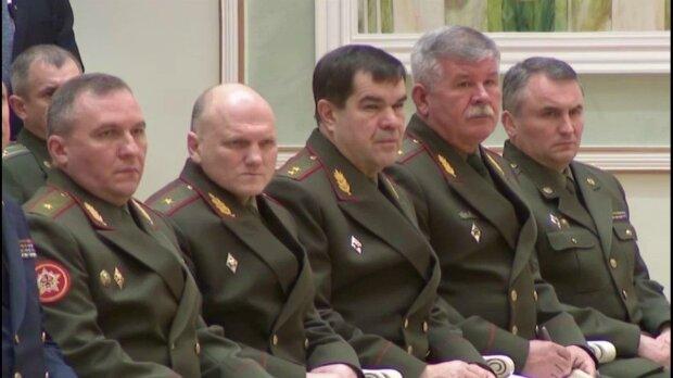белорусские военные, скриншот с видео