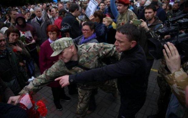 Маты, драки, потасовки: как Киев 9 мая отмечал