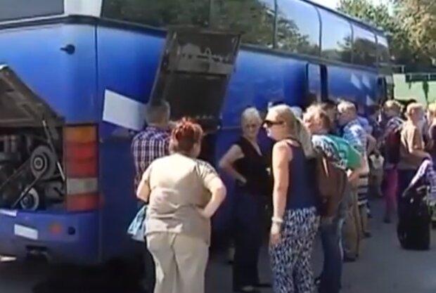 Туристы, Скрин, видео YouTube