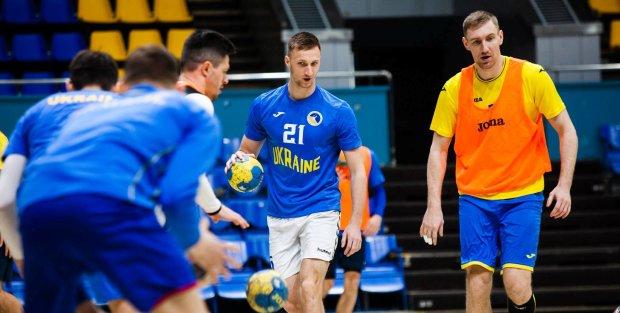 Українські гандболісти розгромили збірну Фарер і захопили лідерство