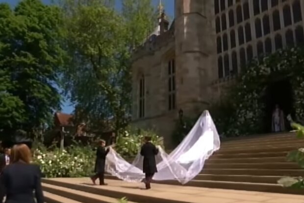 Свадьба Меган Маркл и принца Гарри, скриншот: YouTube