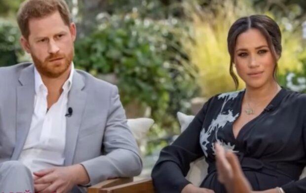 Принц Гарри и Меган Маркл, кадр из видео