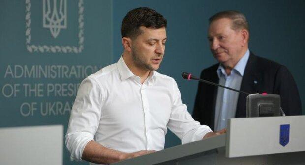 Зеленський і Кучма, фото з вільних джерел