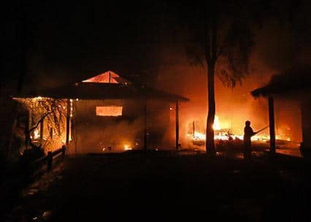 """Лесєв показав наслідки пожежі у Гонтаревої: """"Зараз у Лондоні..."""""""