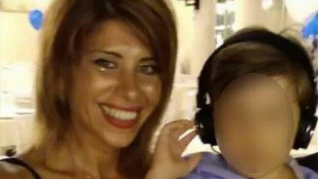 Вівіана Парізі з сином, фото з Facebook