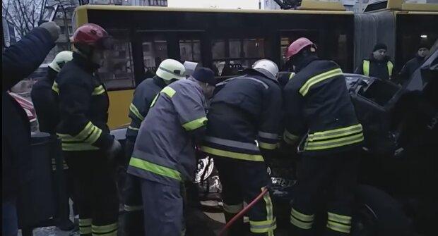ДТП у Києві, фото: Інформатор