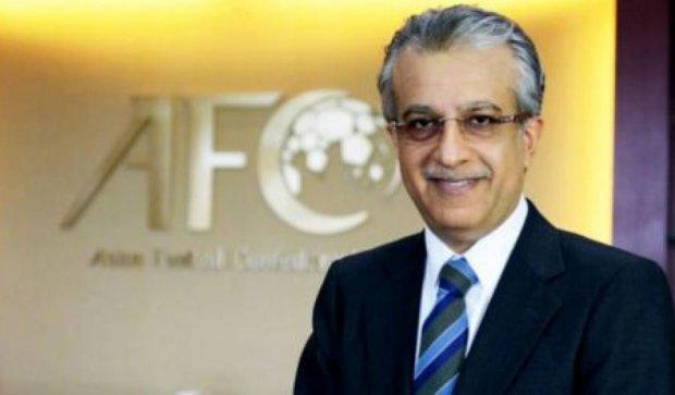 Країни Азії на виборах президента ФІФА підтримають шейха Салмана