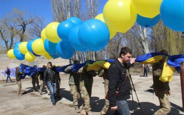 Боевики в панике: украинский флаг уже над Горловкой