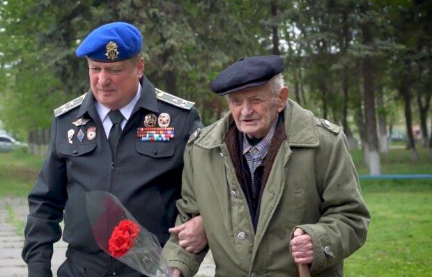 Ветеран Другої світової війни Олексій Тарасов, facebook.com/mvs.gov.ua