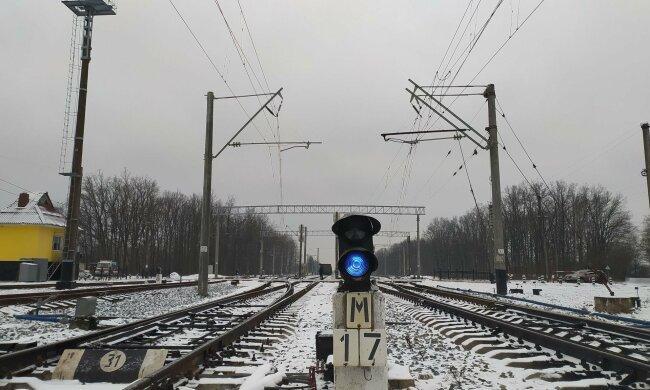 Залізна дорога - фото Укрзалізниця