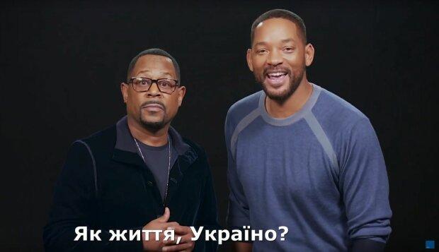 Уилл Смит и Мартин Лоуренс, скриншот видео
