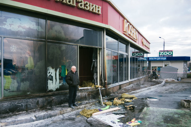 Пожар в магазине Roshen: полиция поймала виновного