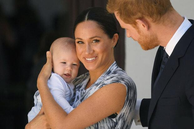 Принц Гарри и Меган Маркл с сыном Арчи, фото: Getty Images