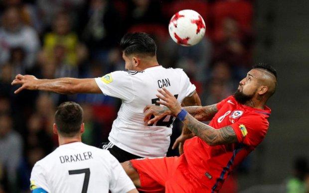 Кубок конфедерацій: Німеччина не зуміла переграти Чилі