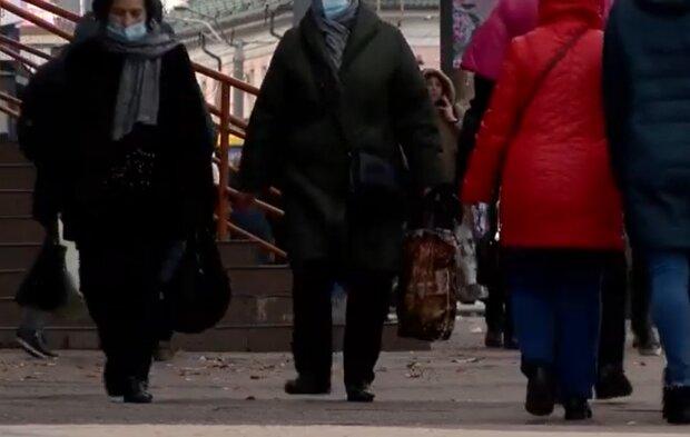 Українські пенсіонери, кадр з відео