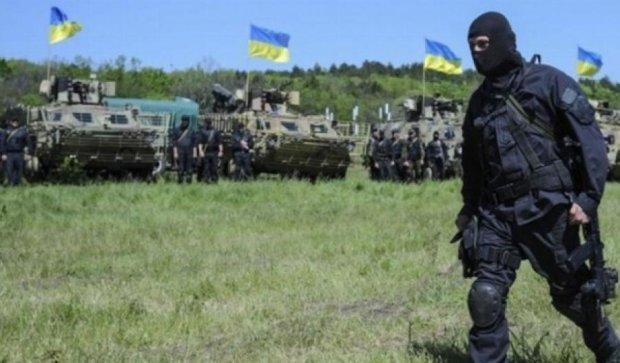 Боевики обстреляли украинские позиции 86 раз -пресс-центр АТО