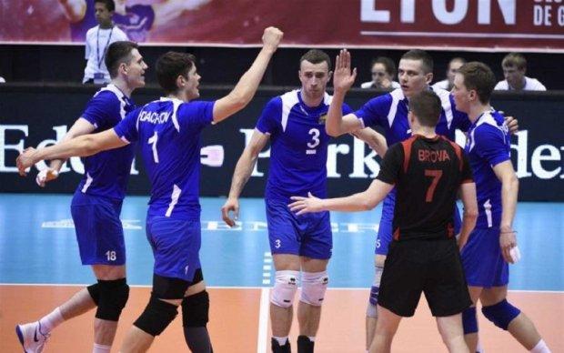 Збірна України з волейболу виграла перший матч Євроліги