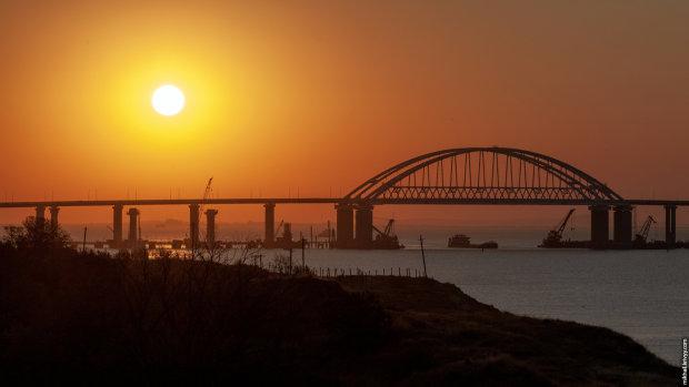 В сети показали, как прощается с жизнью Крымский мост: однозначно конец