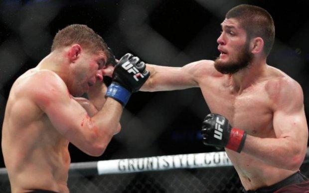 Хабиб Нурмагомедов теперь чемпион UFC: лучшие удары бойца