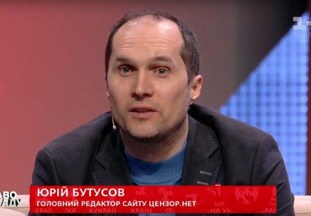 "Юрий Бутусов в программе ""Право на власть"""