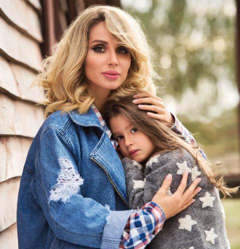 Лобода показала, на кого похожа дочь: такая маленькая, а уже суперзвезда