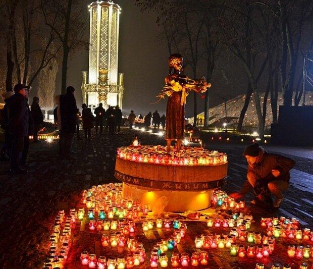 Чествование жертв Голодомора в Киеве, фото: Униан