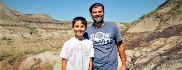 """12-річний хлопець натрапив на рештки неймовірного монстра, йому 69 мільйонів років: """"Ти маєш це побачити!"""""""