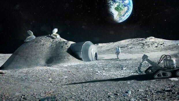 Исследование Луны, фото из свободных источников