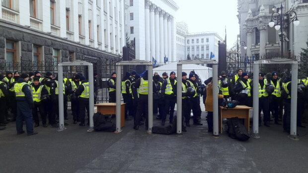 """Акция протеста """"Нет - капитуляции"""" - Офис Президента"""