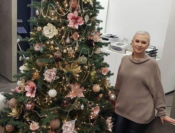 """Ведуча 1+1 Алла Мазур показала  свою надійну  опору у боротьбі з онкологією:  """"Не дозволив мені здатися"""""""