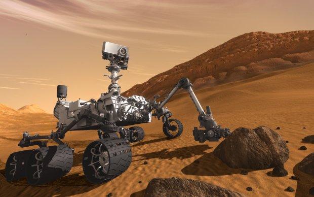 Curiosity прислал селфи с Марса