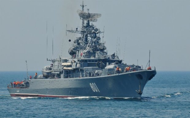 Через санкції Росія заморожує будівництво військових кораблів
