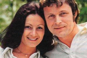 Софія Ротару з покійним чоловіком