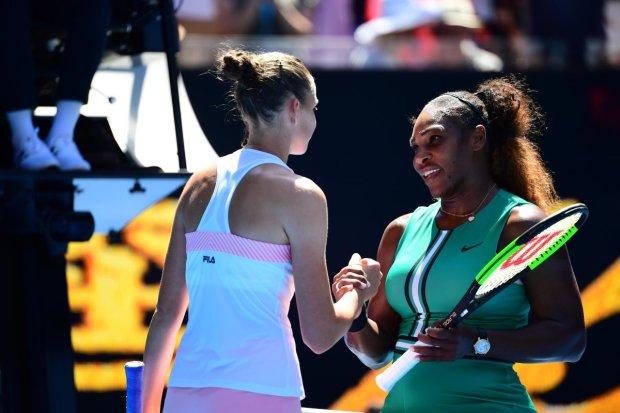 Серена Уильямс сенсационно выбыла из Australian Open