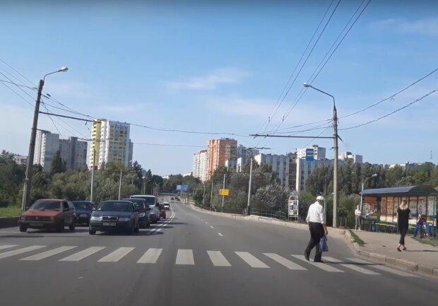 дороги Харкова, скріншот з відео