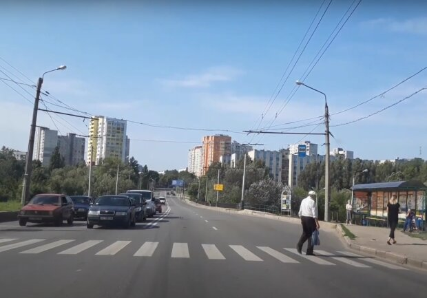 дороги Харькова, скриншот из видео