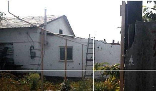 Бойовики розгатили будинок мирного мешканця