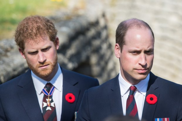 Принци Вільям і Гаррі