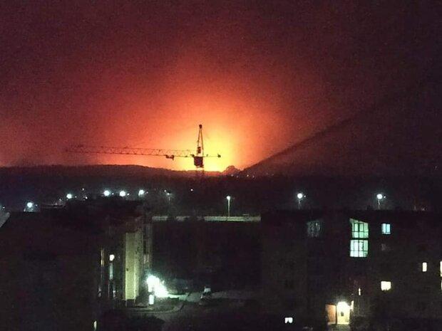 пожежі на Луганщині \\ фото з Фейсбук Сергія Шахова