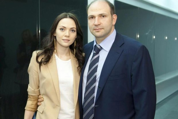 Лев Парцхаладзе с женой