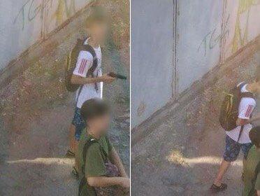 В Днепре школьники громили район с краденным пистолетом – стрельба и крики со всех сторон