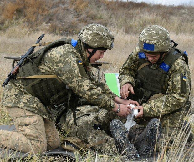 Ситуация на Донбассе, фото: facebook.com/14ombr