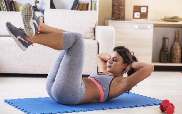 П'ять хвилин цих вправ – і забудьте про зайву вагу