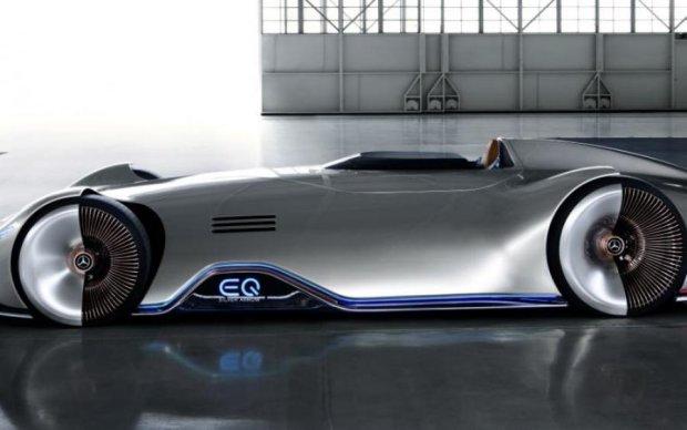 Mercedes-Benz показал гоночное авто будущего