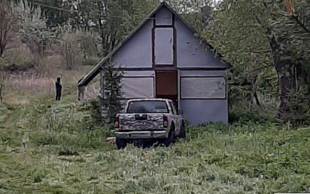 Место трагедии, фото facebook Геращенко