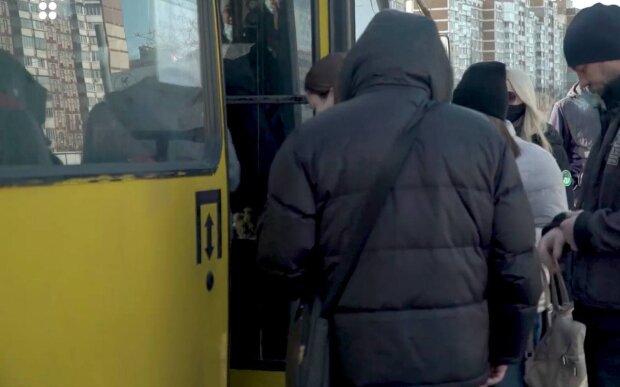 маршрутка / скріншот з відео